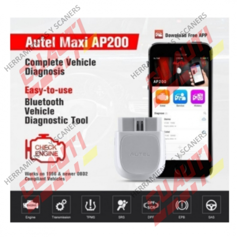 $1,924 Contado Maxi AP200 AUTEL